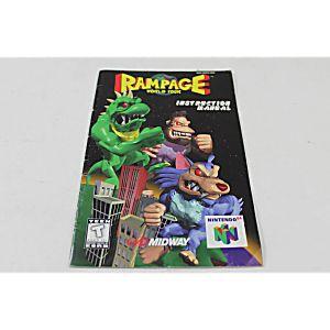 Manual - Rampage World Tour - Nintendo N64