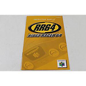 Manual - Ridge Racer 64 - Nintendo N64