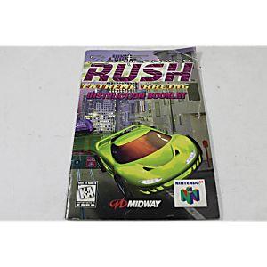 Manual - San Francisco Rush Extreme Racing - Nintendo N64