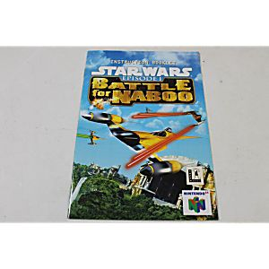 Manual - Star Wars Battle For Naboo - Nintendo N64
