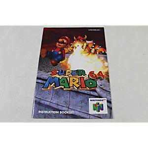 Manual - Super Mario 64 - Nintendo N64