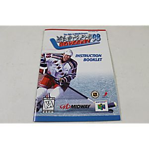 Manual - N64 Wayne Gretzky 3D Hockey '98