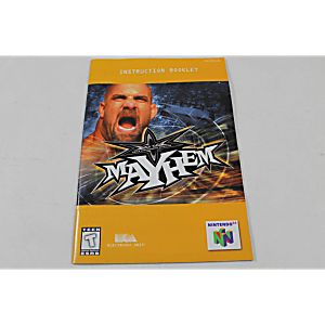 Manual - Wcw Mayhem - Nintendo N64