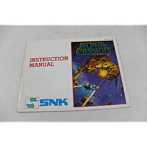 Manual - Alpha Mission - Nes Nintendo