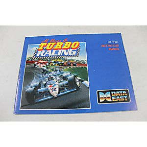 Manual - Al Unser Jr Turbo Racing - Nes Nintendo