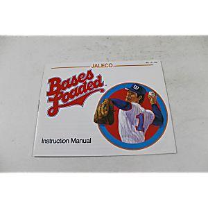 Manual - Bases Loaded - Classic Nes Nintendo