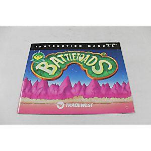 Manual - Battletoads - Rare Nes Nintendo Great Battle Toads