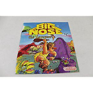 Manual - Big Nose The Caveman - Rare Nes Nintendo