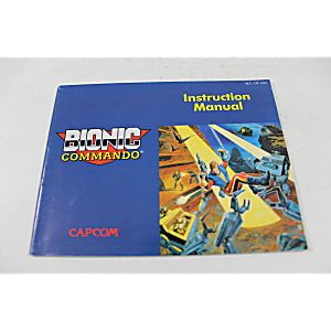 Manual - Bionic  Commando - Nes Nintendo Tested Guaranteed