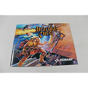 Manual - Castlevania III 3 Dracula's Curse - Nes Nintendo