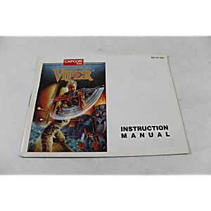 Manual - Code Name Viper - Nes Nintendo