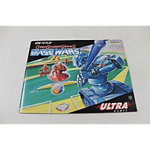 Manual - Cyber Stadium Series - Base Wars - Nes Nintendo