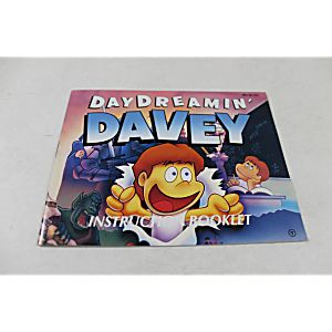 Manual - Day Dreamin' Davey - Fun Nes Nintendo