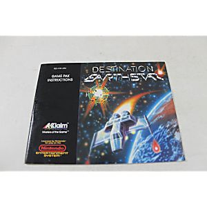 Manual - Destination Earthstar - Nes Nintendo