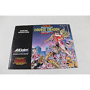 Manual - Double Dragon II 2 The Revenge - Nes Nintendo
