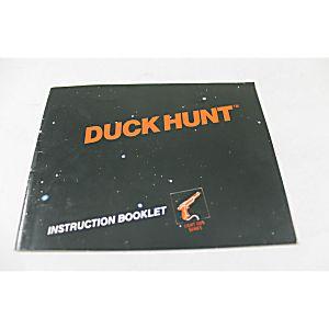Manual - Duck Hunt - Nes Nintendo Light Gun