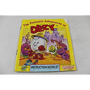 Manual - Fantastic Adventures Of Dizzy - Nes Nintendo