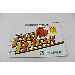 Manual - Magic Johnson's Fast Break - Classic Nes Nintendo