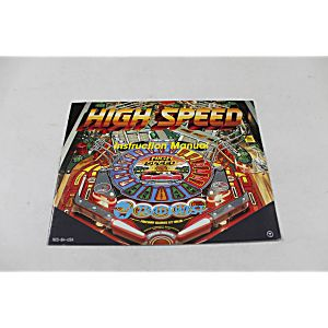 Manual - High Speed Pinball - Nes Nintendo