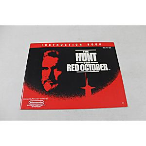 Manual - Hunt For Red October - Nes Nintendo