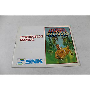Manual - Ikari Warriors - Classic Nes Nintendo
