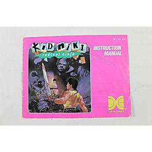 Manual - Kid Niki Radical Ninja - Nes Nintendo