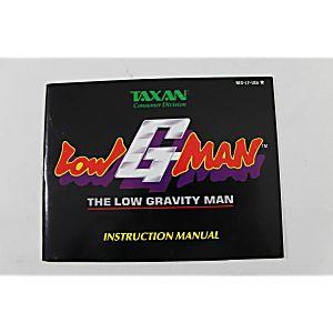 Manual - Low G Man - Nes Nintendo