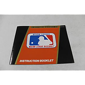 Manual - Major League Baseball - Nes Nintendo