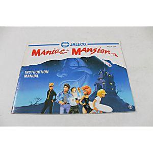 Manual - Maniac Mansion - Rare Original Nes Nintendo