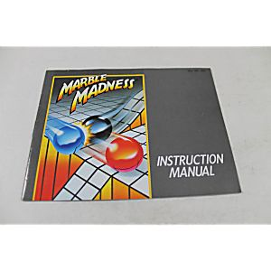 Manual - Marble Madness - Classic Fun Nes Nintendo