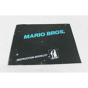 Manual - Original Mario Bros Arcade - Nes Nintendo Rare Brothers