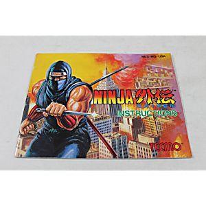 Manual - Ninja Gaiden - Fun Classic Nes Nintendo