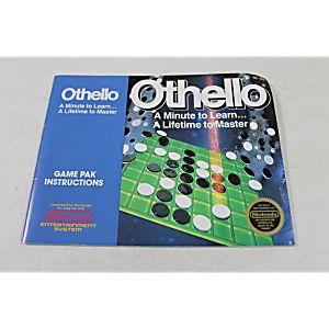 Manual - Othello - Classic Fun Nes Nintendo