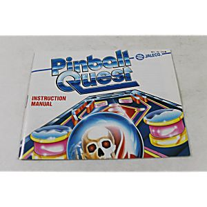 Manual - Pinball Quest - Nes Nintendo
