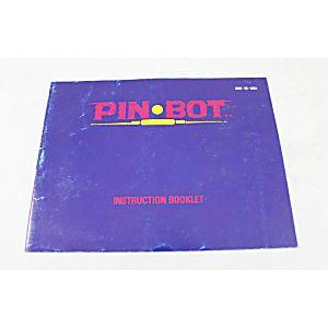 Manual - Pin-Bot - Nes Nintendo Pinbot