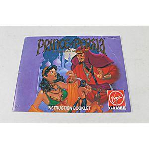 Manual - Prince Of Persia - Nes Nintendo Very Fun