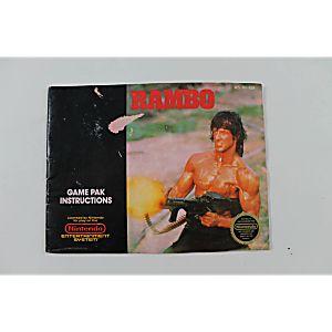 Manual - Rambo - Classic Nes Nintendo