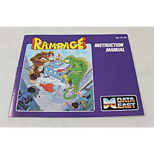 Manual - Rampage - The Classic Nes Nintendo
