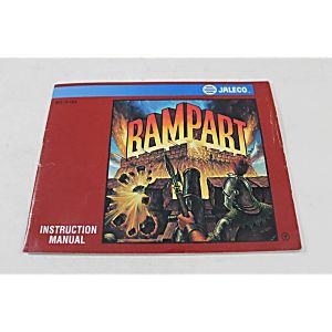 Manual - Rampart - Fun Classic Nes Nintendo