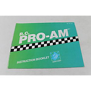 Manual - R.C. Pro-Am - Fun Nes Nintendo Rc Pro Am
