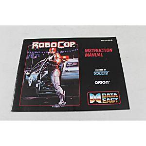 Manual - Robocop Robo Cop - Nes Nintendo