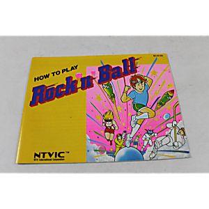 Manual - Rock N Ball - Nes Nintendo