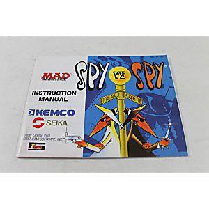 Manual - Spy Vs. Spy - Fun Nes Nintendo