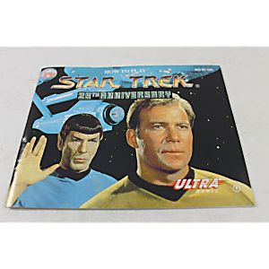 Manual - Star Trek 25Th Anniversary - Nes Nintendo