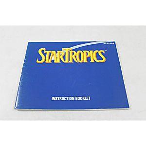Manual - Star Tropics - Classic Fun Nes Nintendo