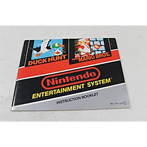 Manual - Super Mario Brothers / Duck Hunt