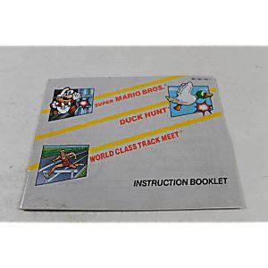 Manual - Super Mario/Duck Hunt/World Class Track - Nintendo