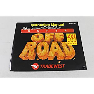 Manual - Super Off Road - Fun Nes Nintendo