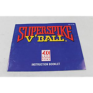 Manual - Super Spike V'Ball - Nes Nintendo Volleyball