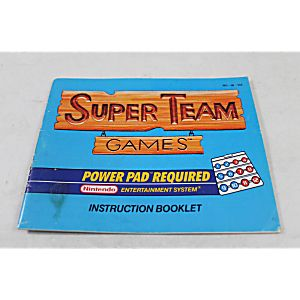 Manual - Super Teams - Nes Nintendo Power Pad